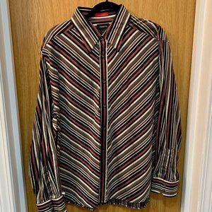 Men's Claiborne Dress Shirt - XL - Vintage 2000s